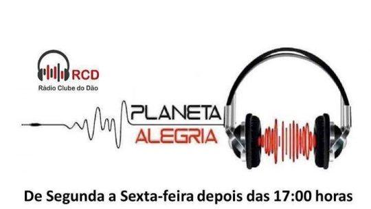 PLANETA ALEGRIA NA RÁDIO CLUBE DO DÃO