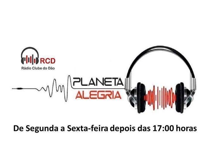 PLANETA ALEGRIA – Na Rádio Clube do Dão