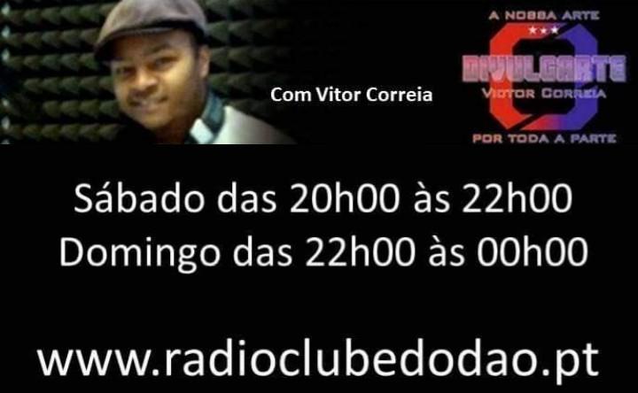 DIVULGARTE NA RADIO CLUBE DO DAO