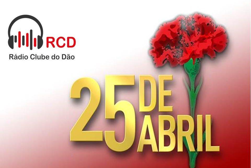 45 anos do 25 de abril – Emissão especial na Rádio Clube do Dão