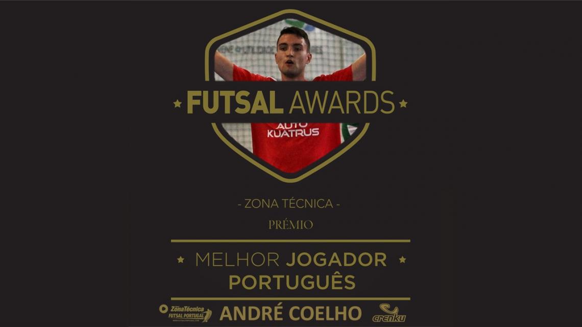 André Coelho – Melhor Jogador Português | Portugal Futsal Awards 2018/2019