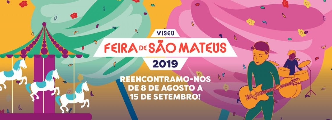 FEIRA DE SÃO MATEUS abre as portas amanhã e até ao dia 15 de setembro